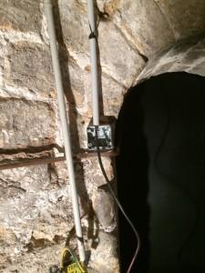 Passage de cable dans tube IRL