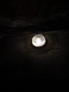 eclairage etanche lumineux cave