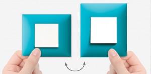 Plaque horizontale ou verticale