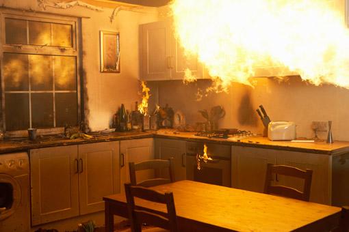 Prise electrique incendie