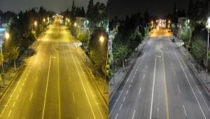 eclairage route
