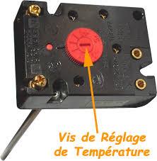 depannage themostat d'un chauffe eau electrique