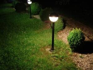 installer eclairage exterieur jardin