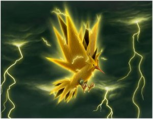 pokemon electrique pokemon go legendaire