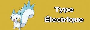 le type des pokemon electrique